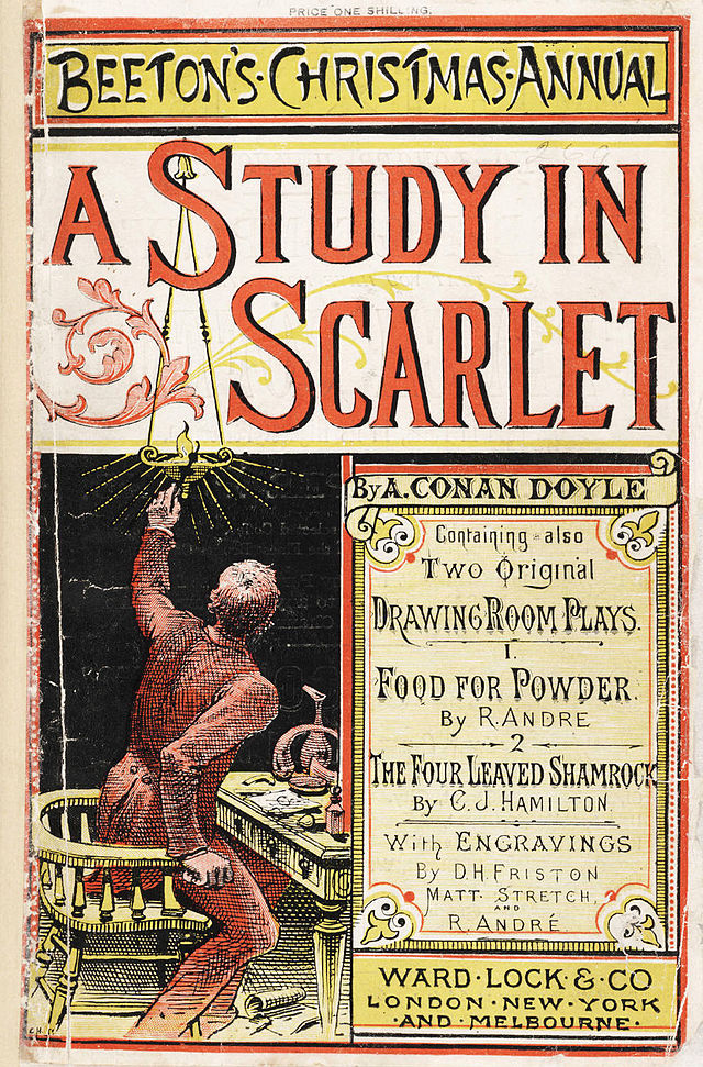 A Study in Scarlet, Holmes's First Appearance